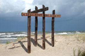 """Czerwony szlak na Wydmę Czołpińską - Czołpino [Wejścia na plażę]<br><a href=""""?s=nadmorskie-poi&o=we&id_kat=13&id_m=24&id=80"""">pokaż szczegóły punktu...</a>"""