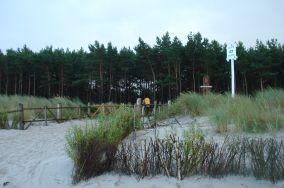 47 - Słajszewo [Wejścia na plażę]