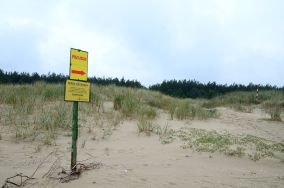 421.2 km - Świnoujście [Wejścia na plażę]