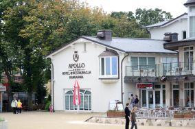 Hotel Apollo - Darłowo [Kamery internetowe]