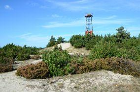 Góra Szwedów 19 m - Hel [Nadmorskie wierchy]