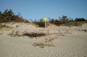 """278.9 km - Dąbki [Wejścia na plażę]<br><a href=""""?s=nadmorskie-poi&o=we&id_kat=13&id_m=26&id=3886"""">pokaż szczegóły punktu...</a>"""