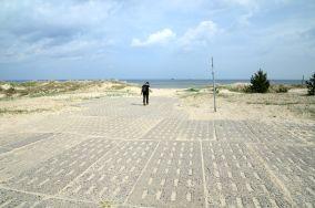 428.1 km - Świnoujście [Wejścia na plażę]
