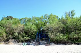 """43 - Pobierowo [Wejścia na plażę]<br><a href=""""?s=nadmorskie-poi&o=we&id_kat=13&id_m=145&id=1381"""">pokaż szczegóły punktu...</a>"""