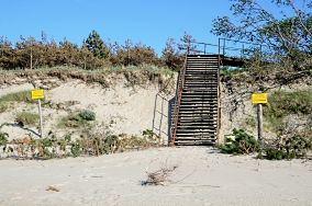 """284.0 km - Dąbkowice [Wejścia na plażę]<br><a href=""""?s=nadmorskie-poi&o=we&id_kat=13&id_m=27&id=1151"""">pokaż szczegóły punktu...</a>"""