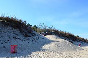 275.9 km - Bobolin [Wejścia na plażę]