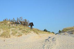 """Niebieski szlak do Czołpina - Czołpino [Wejścia na plażę]<br><a href=""""?s=nadmorskie-poi&o=we&id_kat=13&id_m=24&id=78"""">pokaż szczegóły punktu...</a>"""