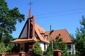 Kościół rzym-kat. pw. Matki Bożej Gwiazdy Morza - ul. Słoneczna 25 - Piaski [Kościoły i kaplice]