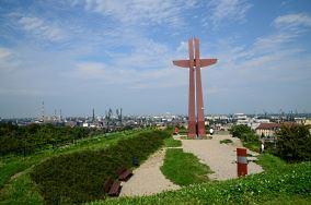 """Krzyż Milenijny - Gdańsk [Pomniki]<br><a href=""""?s=nadmorskie-poi&o=we&id_kat=46&id_m=35&id=4640"""">pokaż szczegóły punktu...</a>"""