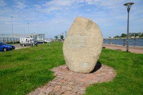 Głaz Tadeusza Ziółkowskiego - Gdańsk [Pomniki]
