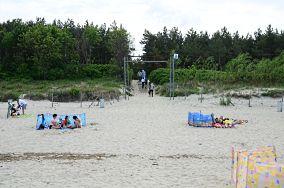 """23 - Krynica Morska [Wejścia na plażę]<br><a href=""""?s=nadmorskie-poi&o=we&id_kat=13&id_m=91&id=331"""">pokaż szczegóły punktu...</a>"""