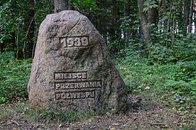 """Miejsce przerwania półwyspu - Kuźnica [Pomniki]<br><a href=""""?s=nadmorskie-poi&o=we&id_kat=46&id_m=96&id=1535"""">pokaż szczegóły punktu...</a>"""