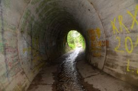 Tunel - Chłapowo [Punkty orientacyjne]