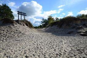 """Zielony szlak do Rowów - Rowy [Wejścia na plażę]<br><a href=""""?s=nadmorskie-poi&o=we&id_kat=13&id_m=164&id=1163"""">pokaż szczegóły punktu...</a>"""