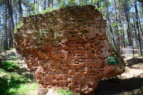 """Ruiny kościoła św. Mikołaja - Łeba [Muzea i zabytki]<br><a href=""""?s=nadmorskie-poi&o=we&id_kat=3&id_m=107&id=3128"""">pokaż szczegóły punktu...</a>"""