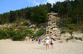 """Schody na Górę Kawczą - Międzyzdroje [Wejścia na plażę]<br><a href=""""?s=nadmorskie-poi&o=we&id_kat=13&id_m=116&id=2980"""">pokaż szczegóły punktu...</a>"""