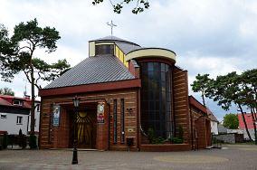 Kościół rzym-kat. pw. św. Stanisława BM - ul. Krakowska 22 - Niechorze [Kościoły i kaplice]