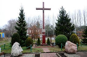 Krzyż - ul. Steyera - Hel [Krzyże i kapliczki]