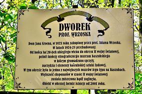 """Dworek prof. Wrzoska - Dębki [Muzea i zabytki]<br><a href=""""?s=nadmorskie-poi&o=we&id_kat=3&id_m=28&id=4927"""">pokaż szczegóły punktu...</a>"""